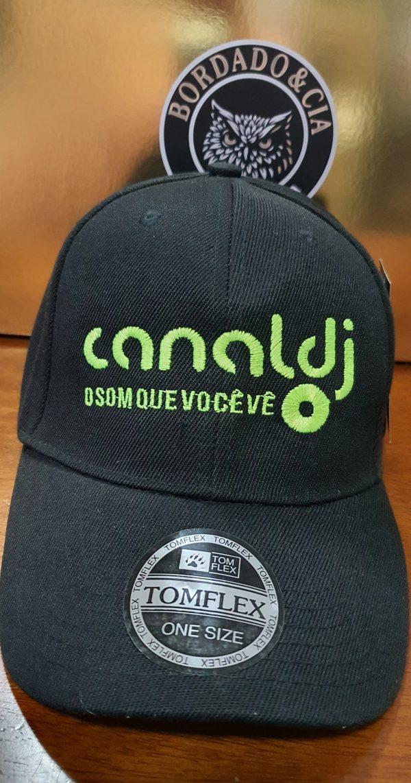 Boné Classic Oficial - CANAL DJ by Bordado & Cia - @bordado.cia