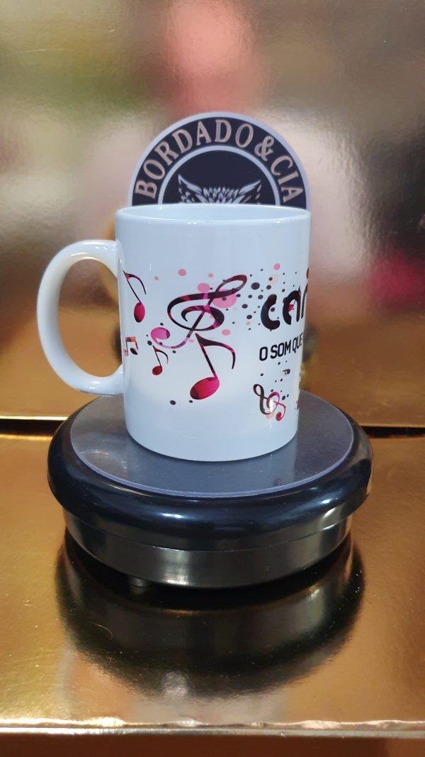 Caneca Oficial - CANAL DJ - CC-CDJ-02 - Cifras de Música by Bordado & Cia - @bordado.cia