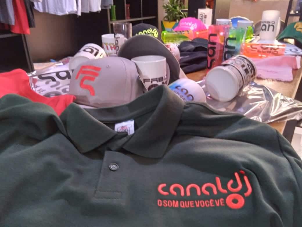 Camisa Polo Bordada Canal DJ by Bordado & Cia - @canaldj; @bordado.cia