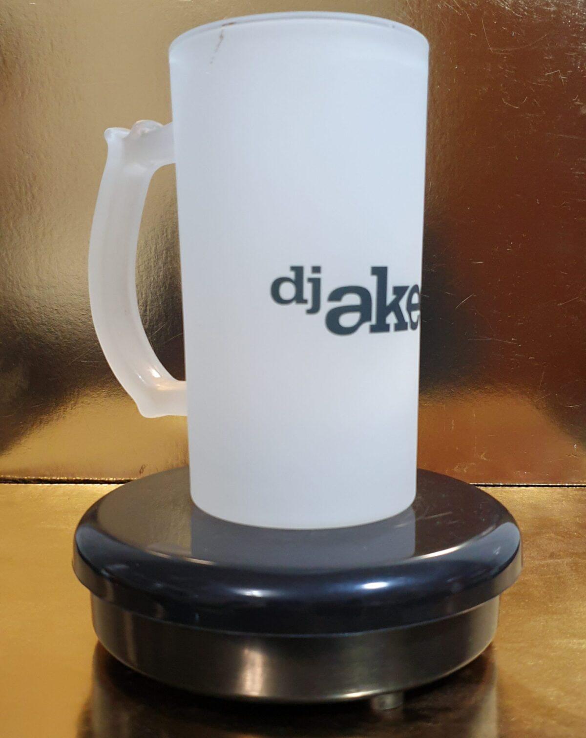 Caneca de Chopp Oficial - DJ AKEEN by Bordado & Cia - @bordado.cia