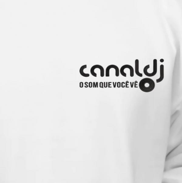 Blusa de Moletom Canguru - CANAL DJ by Bordado & Cia - @bordado.cia