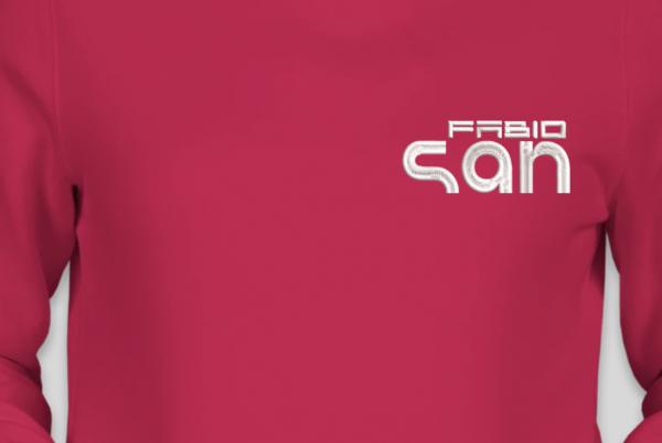 Blusa de Moletom Flanelado Canguru Feminino - DJ FABIO SAN by Bordado & Cia - @bordado.cia