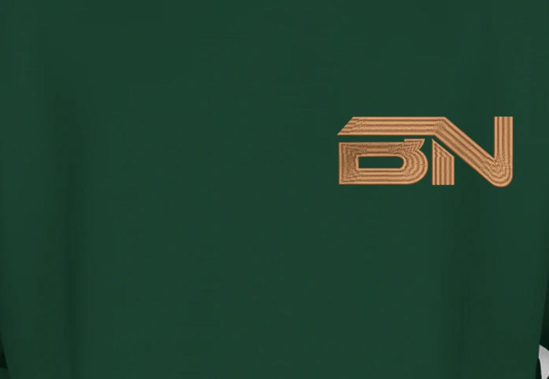 Blusa de Moletom Masculino - Canguru - BETO NINI DJ by Bordado & Cia - @bordado.cia