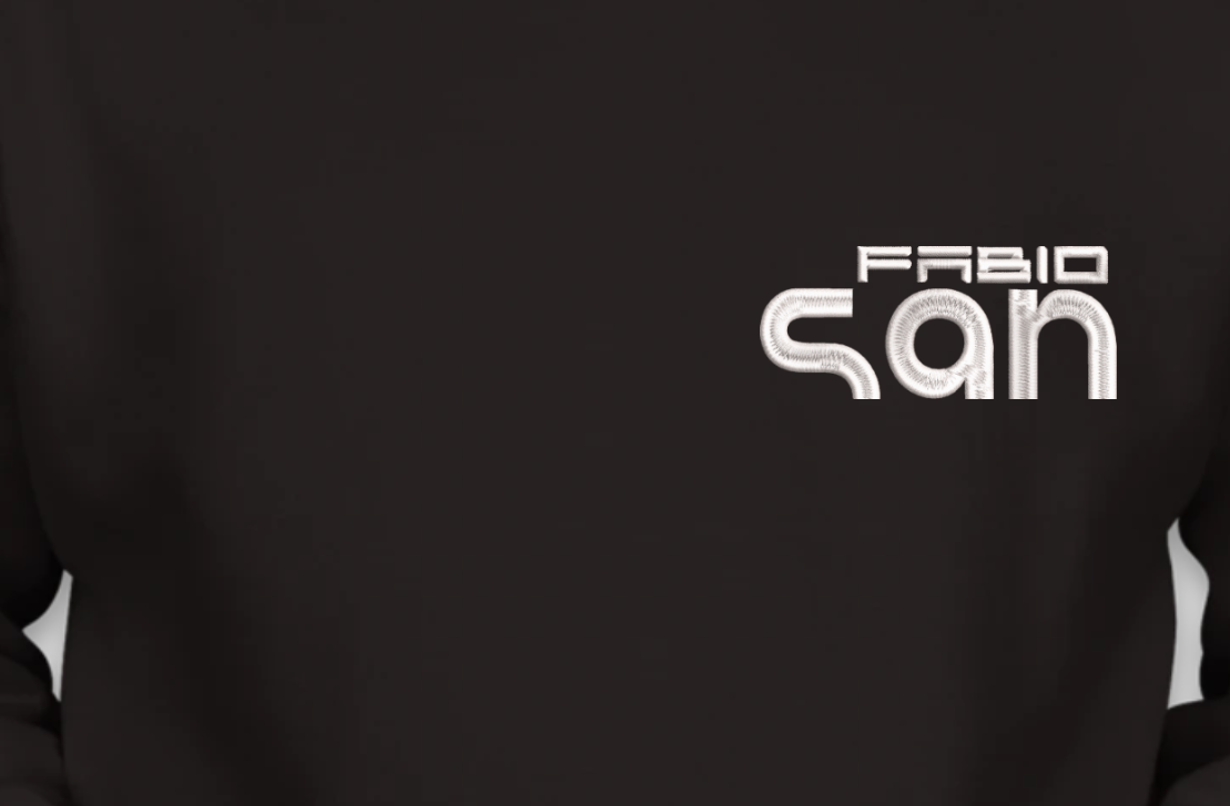 Blusa de Moletom Masculino - Canguru - DJ Fabio San by Bordado & Cia - @bordado.cia