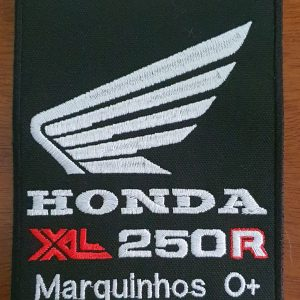 Patch Honda XL 250R by Bordado & Cia - @bordado.cia