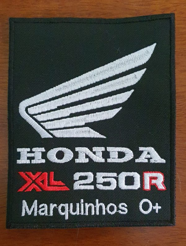 Patch Honda XL 250R by Bordado & Cia - @bordado.cia