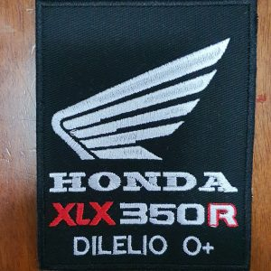 Patch Honda XLX 350R by Bordado & Cia - @bordado.cia