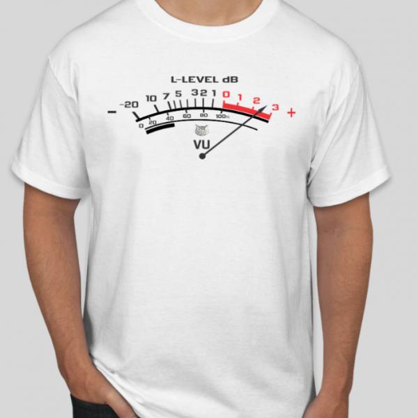 Camiseta VU Meter by B&C Custom - @bordado.cia