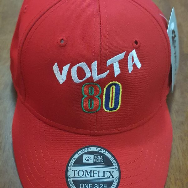 Boné Bordado - Classic Aba Curva - Festa Volta 80 - Logotipo Volta 80 - by Bordado & Cia - @bordado.cia @volta80