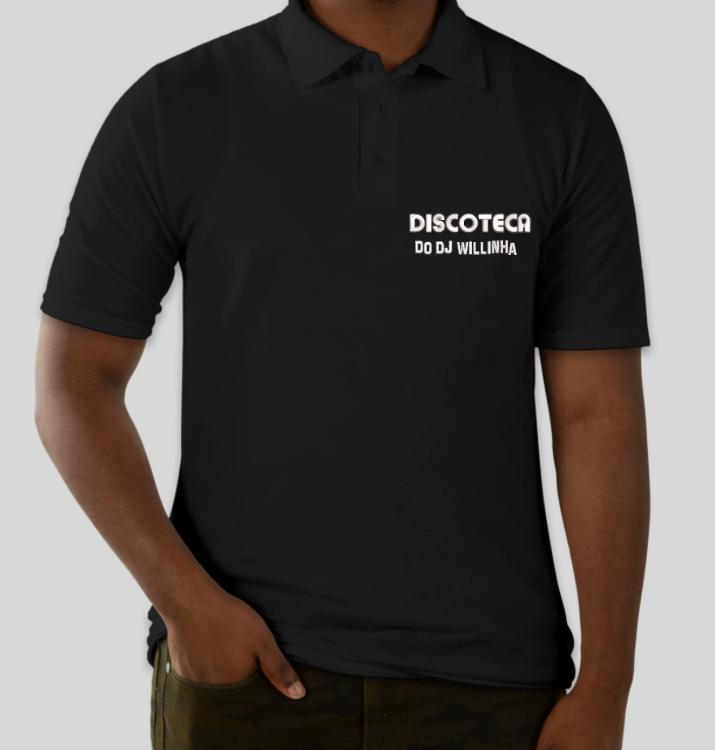 Camisa Polo Oficial Bordada da DISCOTECA DO DJ WILLINHA by Bordado & Cia - @bordado.cia @djwillinha