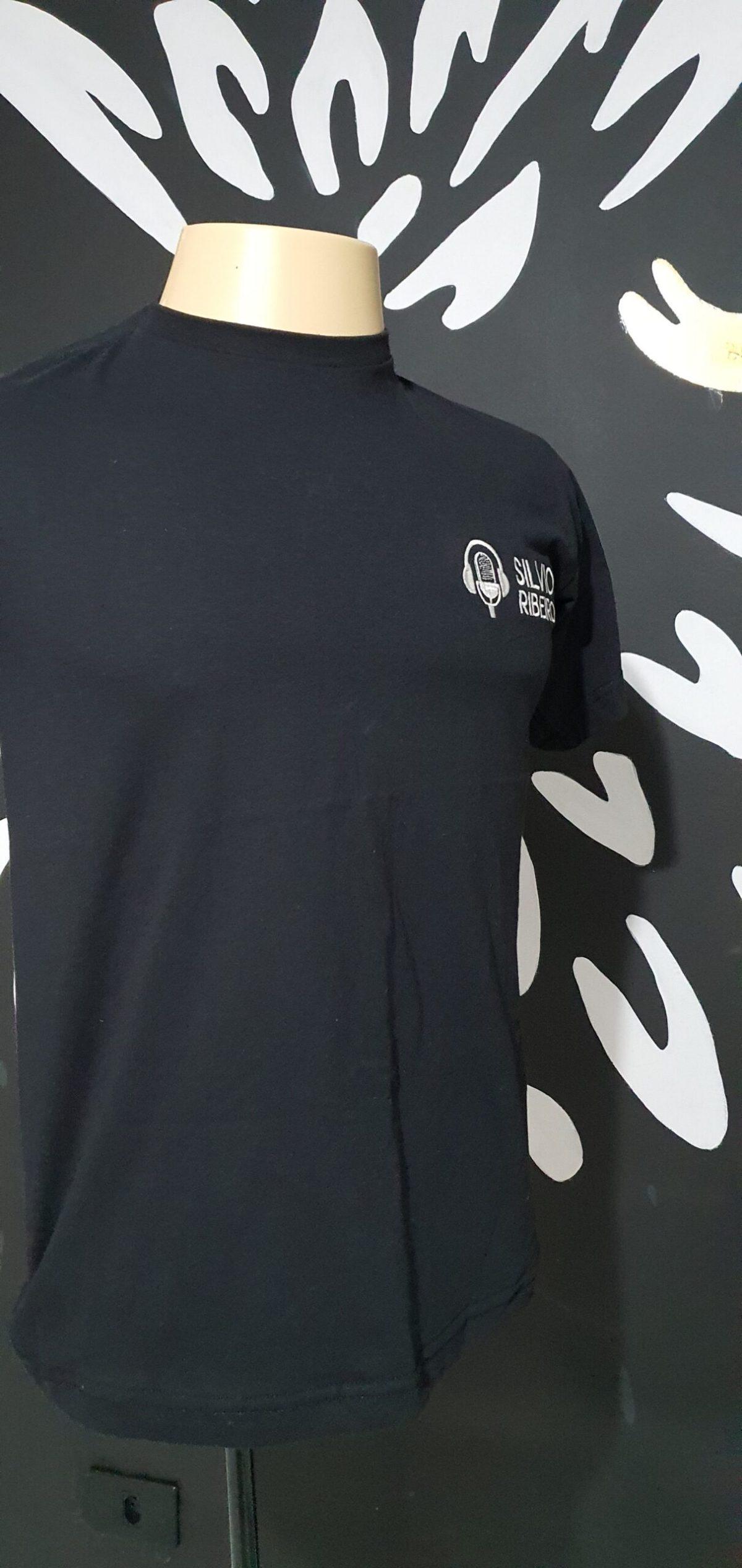 Camiseta Bordada Oficial do Silvio Ribeiro Locutor - Logo - by Bordado & Cia - @bordado.cia @silvioribeirolocutor