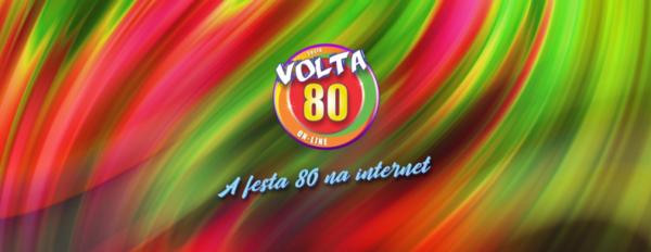 Caneca Oficial da Festa Volta 80 - Logotipo V80- by Bordado & Cia - @bordado.cia @volta80