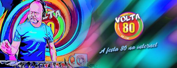 Caneca Oficial da Festa Volta 80 - Cartoon - by Bordado & Cia - @bordado.cia @volta80