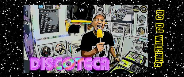 Caneca Oficial do DJ Willinha - Discoteca - by Bordado & Cia - @bordado.cia @djwillinha