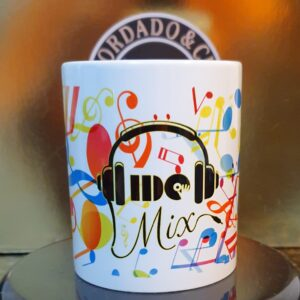 Caneca Oficial do DJ IDO MIX - Music - by Bordado & Cia - @bordado.cia @djidomix