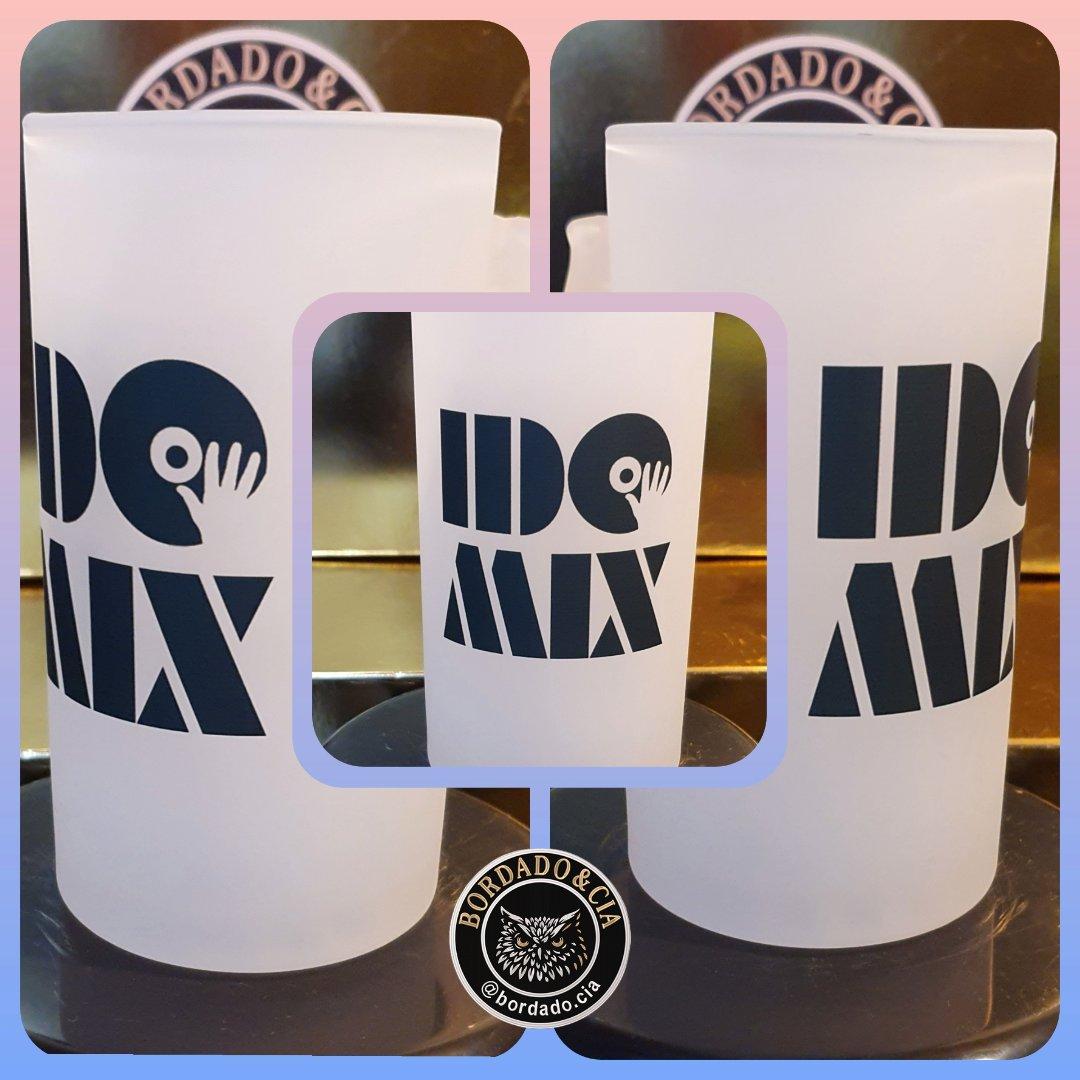 Caneca de Chopp Oficial do DJ IDO MIX by Bordado & Cia - @bordado.cia @djidomix