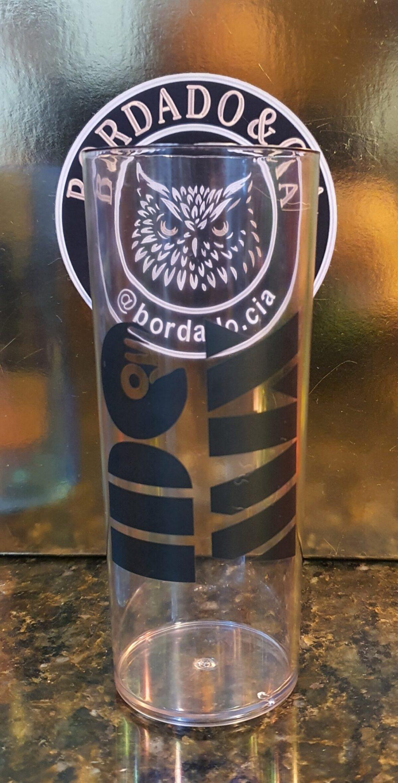 Copo Long Drink do DJ IDO MIX by Bordado & Cia - @bordado.cia @djidomix