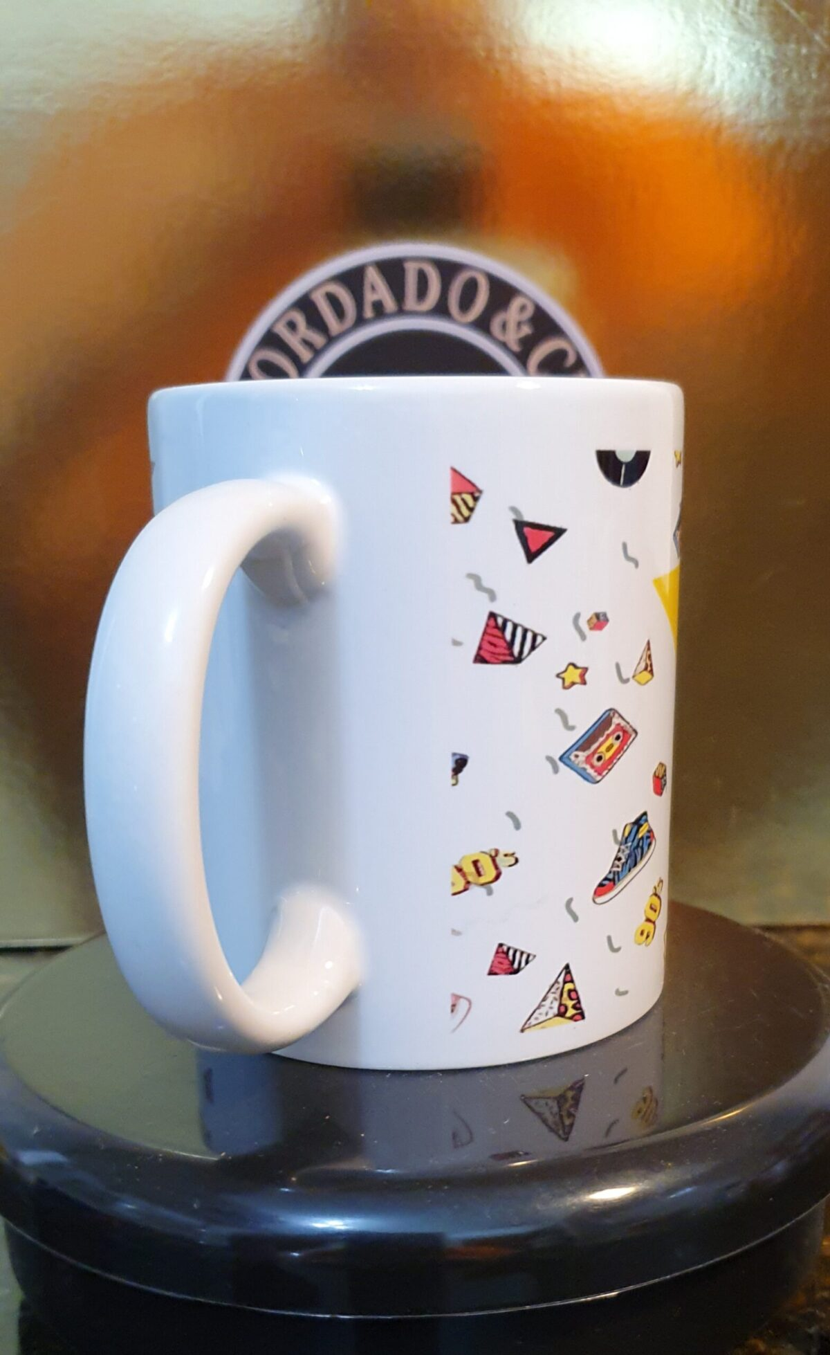 Caneca Oficial da Bordado & Cia Custom - Anos 90's - Back to the 90s Large - by Bordado & Cia - @bordado.cia