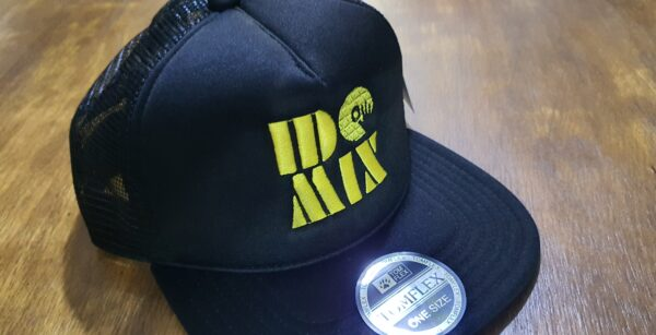 Boné Bordado DJ IDO MIX by Bordado & Cia - @bordado.cia @djidomix @canaldj