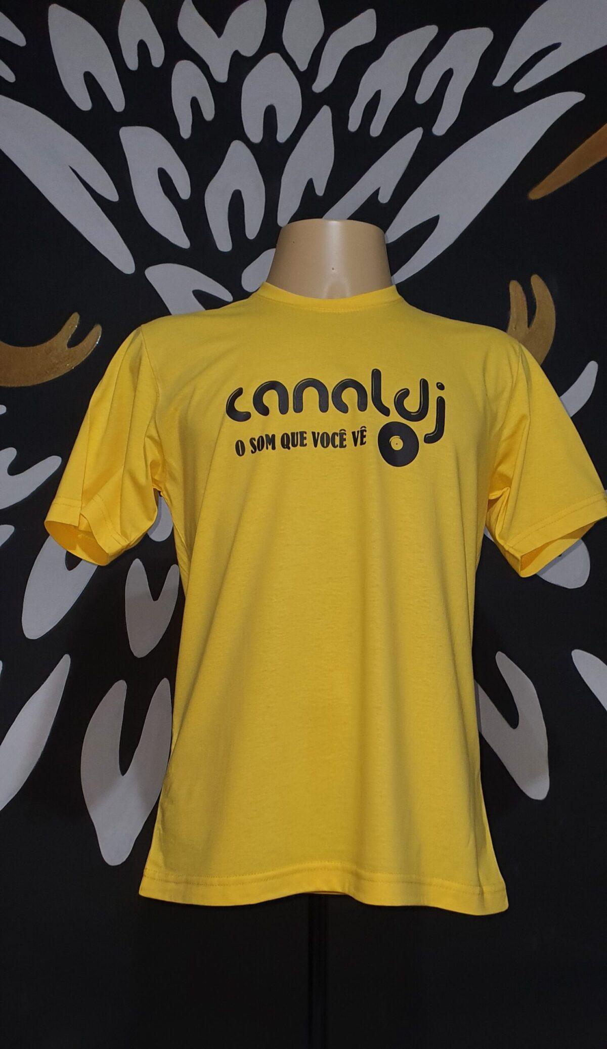 Camiseta Estampada Canal DJ by Bordado & Cia - @bordado.cia @canaldj