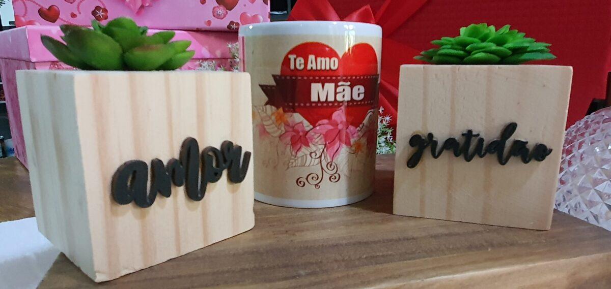"""Cesta Dia das Mães """"Encanto"""" by Bordado & Cia - @bordado.cia"""