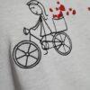 """Camiseta Bordada """"Caminho de Amor"""" by Bordado & Cia - @bordado.cia"""