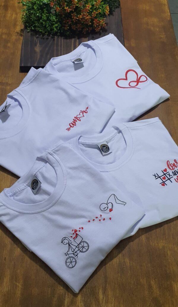 Camiseta Bordada by Bordado & Cia - @bordado.cia