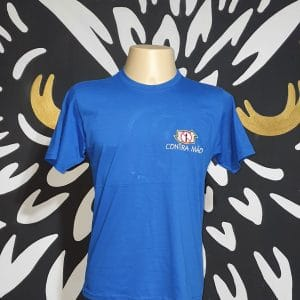 Camiseta Bordada Oficial Contra Mão by Bordado & Cia - @bordado.cia; @dj.vadao; @danceteriacontramao; #danceteriacontramao