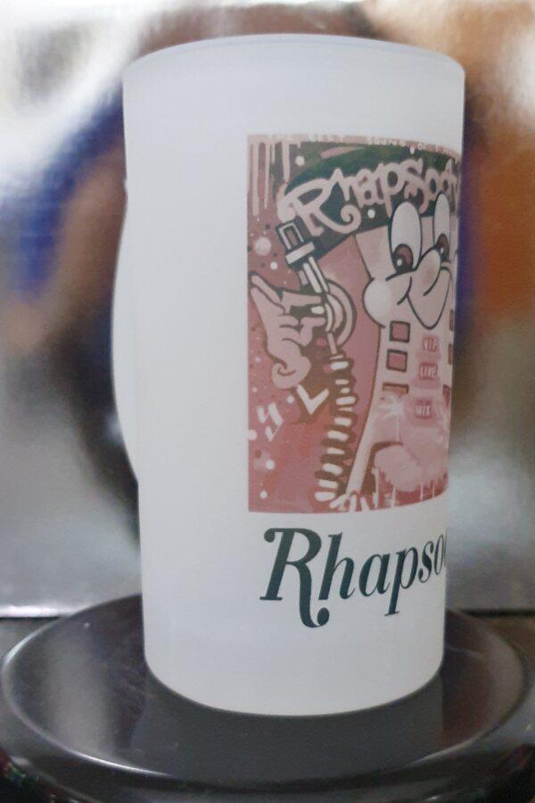 Caneca de Chopp Oficial Rhapsody by Bordado & Cia - @bordado.cia; @djrobsonbraga; @danceteriarhapsody; #danceteriarhapsody