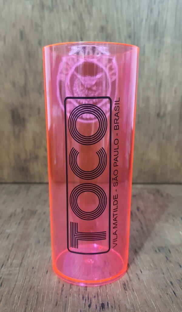 Copo Long Drink Oficial da Danceteria TOCO by Bordado & Cia - @bordado.cia; @dj.vadao; @tocodance; #danceteriatoco