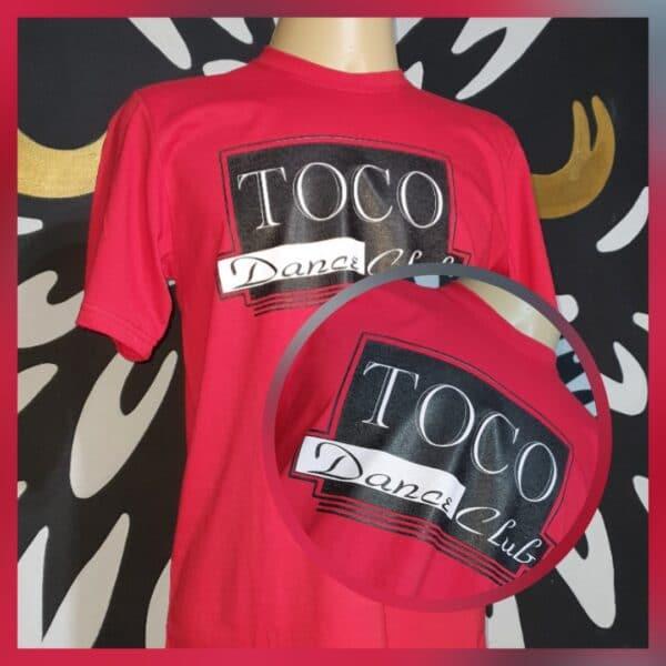 Camiseta TOCO - Dance Club by Bordado & Cia - @bordado.cia; @dj.vadao; @tocodance; #danceteriatoco