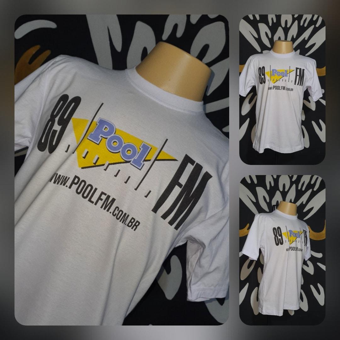 Camiseta POOL 89 FM Vintage by Bordado & Cia - @bordado.cia; @poolfm