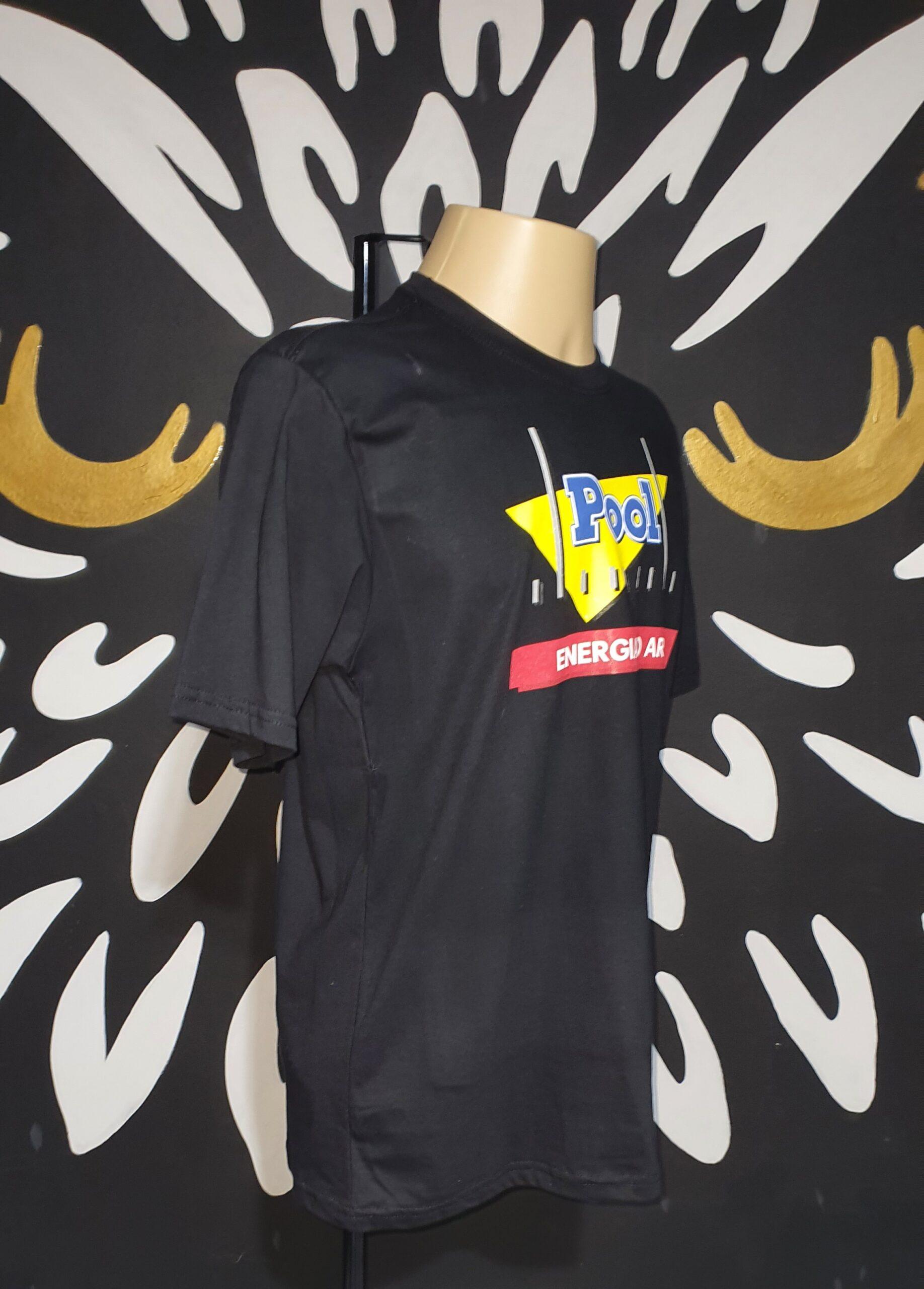 Camiseta POOL FM Energia no Ar by Bordado & Cia - @bordado.cia; @poolfm