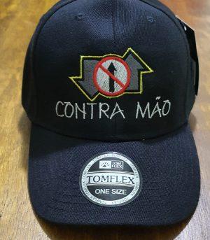 Boné Classic Oficial - CONTRAMÃO by Bordado & Cia - @bordado.cia @contramao @dj.vadao @djvadao